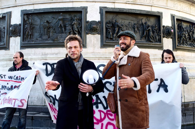 Gli attivisti di Potere al Popolo a Parigi guardano oltre il 4 marzo