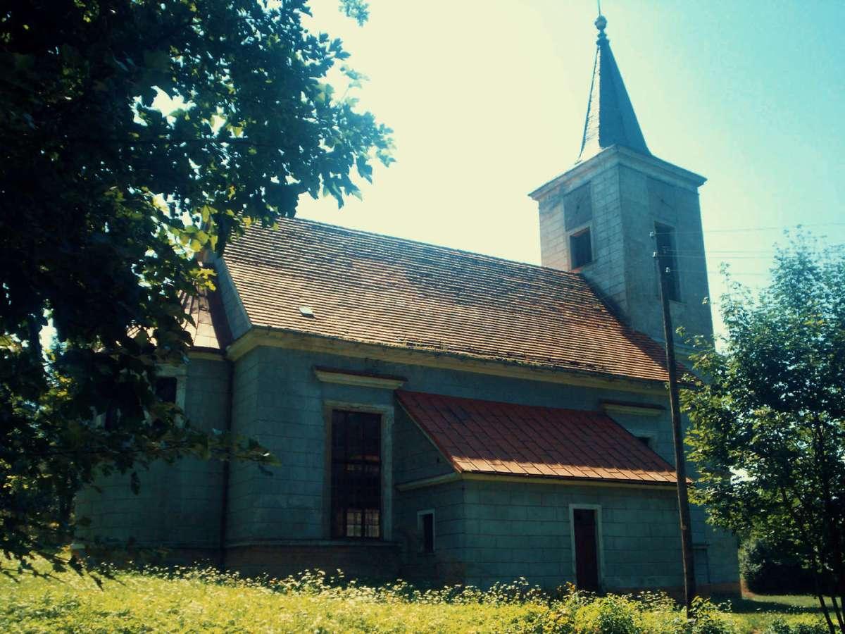 la chiesa di Miedzianka