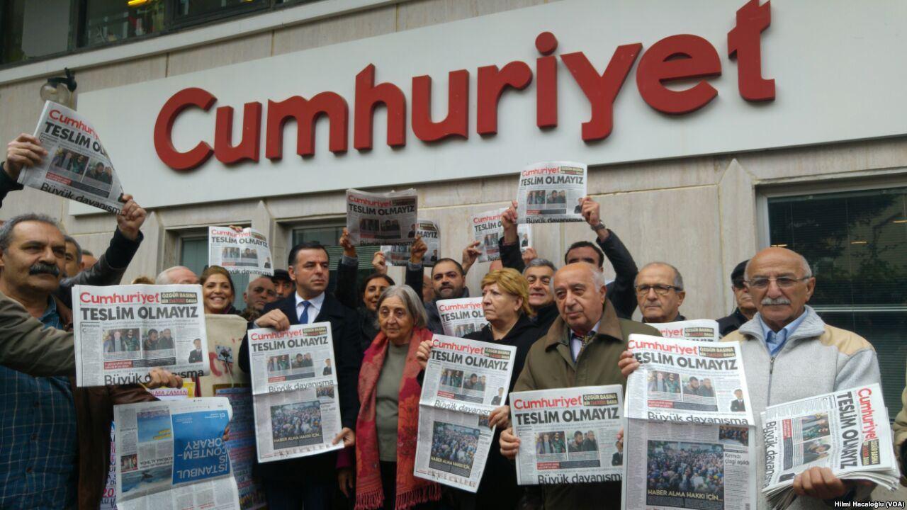 La libertà di stampa ancora sotto attacco in Turchia