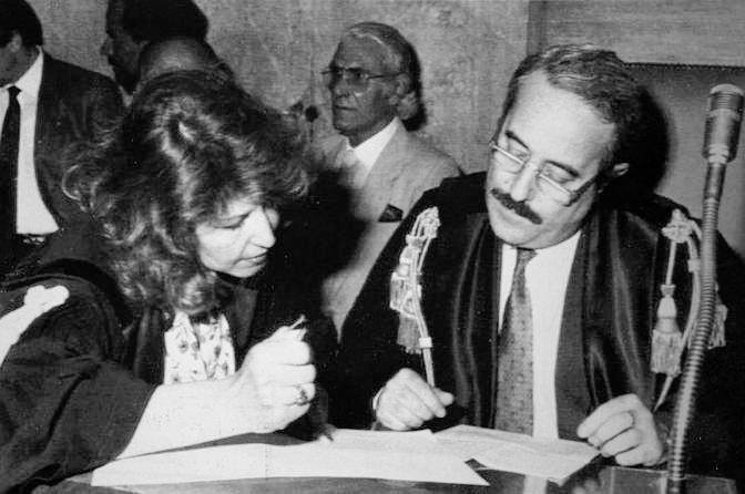 Francesca Morvillo e Giovanni Falcone