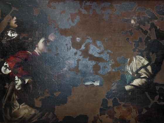 I Giocatori di Carte, Galleria degli Uffizi, Firenze, 2010
