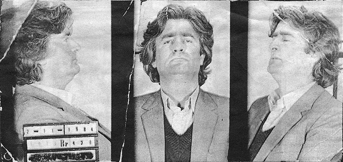 Radovan Karadžić, arrestato nel 1984