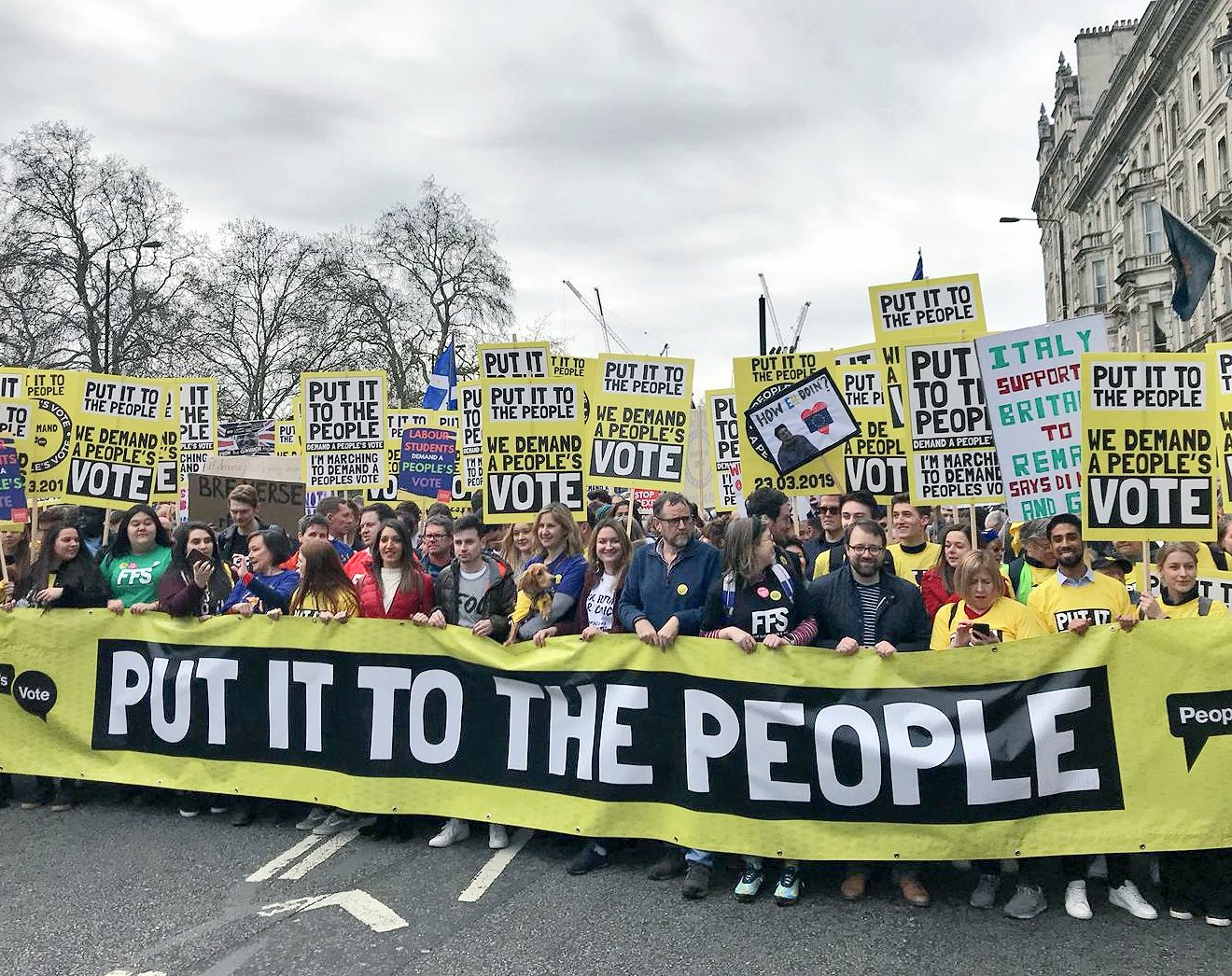 Un milione in piazza contro la Brexit