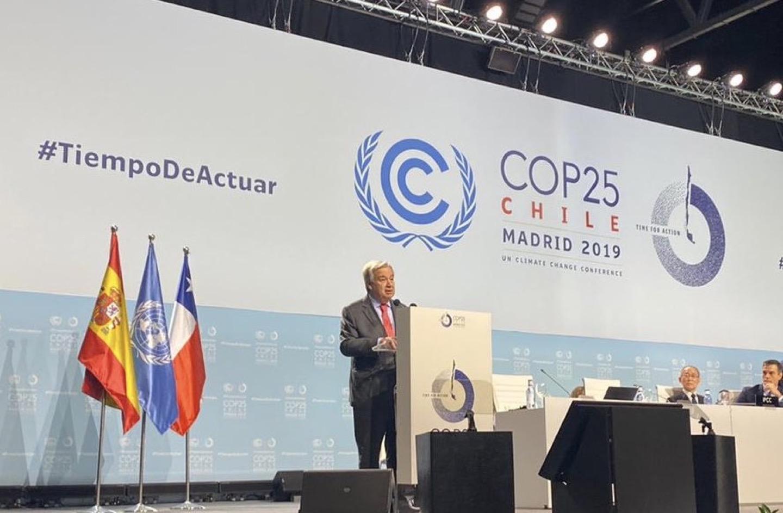 La COP25 dovrà affrontare il punto di non ritorno del cambiamento climatico
