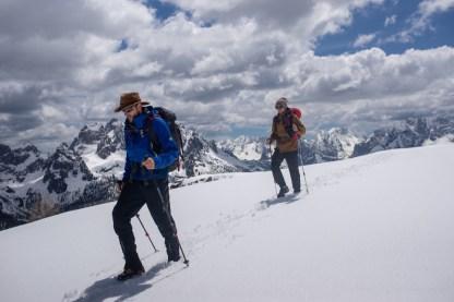 Lottando con la neve, Dolomiti di Sesto