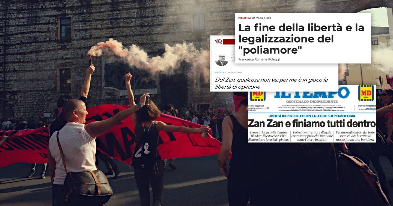 Il ddl Zan non limita la libertà di nessuno: chi lo sostiene è in malafede