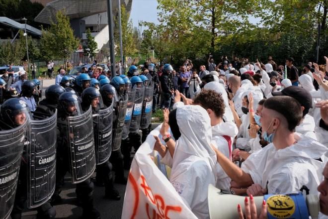 Un altro giorno di manifestazioni per l'ambiente a Milano