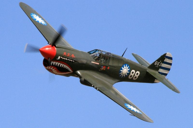 bd431edc525b 76th Anniversary Salute to the Famous WWII 'Flying Tigers'