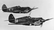 Flying Tigers in Flight (2)