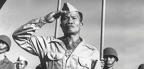 Jose Calugas was working as a mess sergeant in charge of a group of soldiers who were preparing the day's meals, known as KP duty.