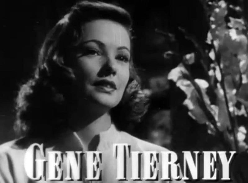 Images about gene tierney on pinterest film