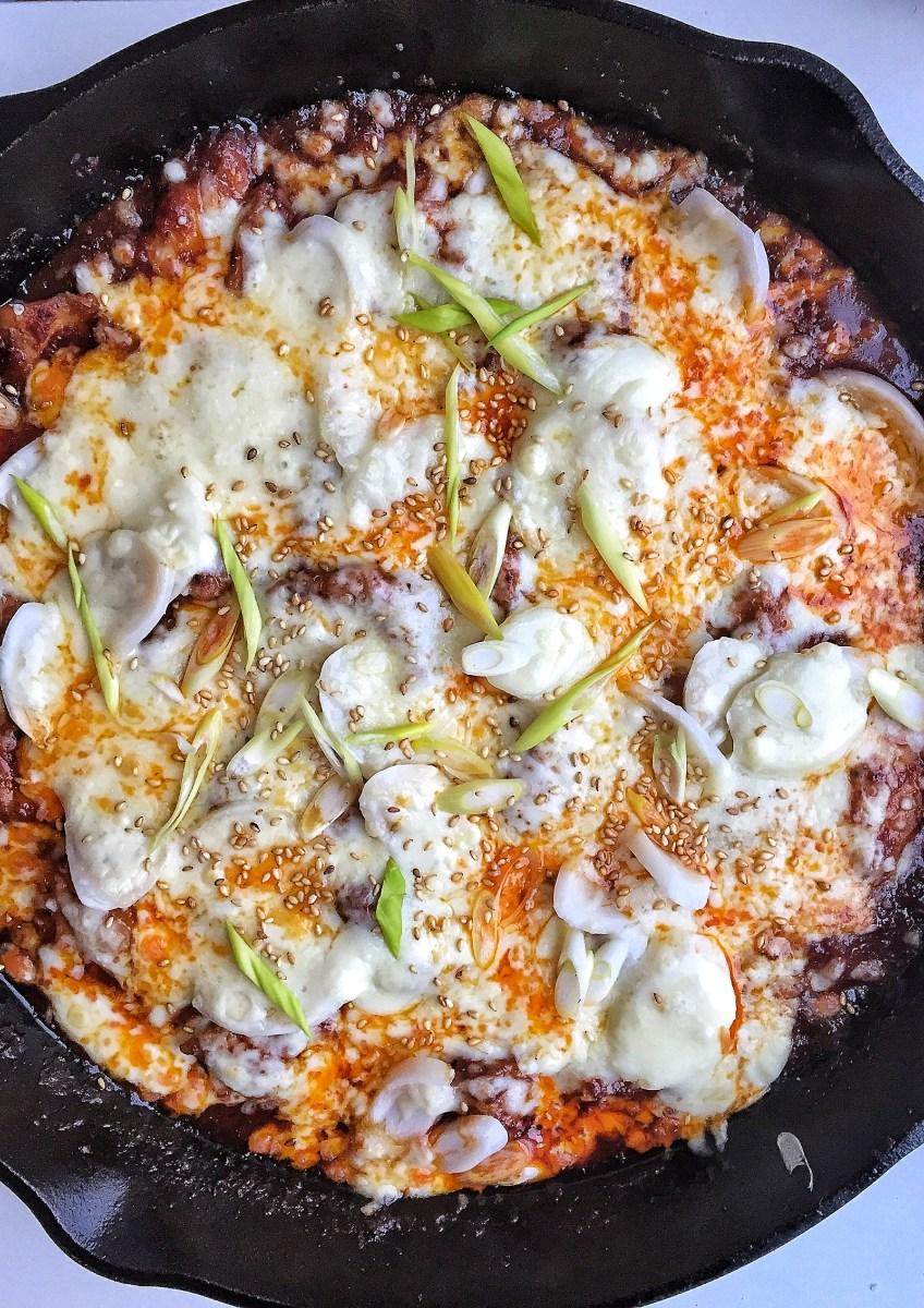 Cheese Buldak Chicken aka Fire Chicken