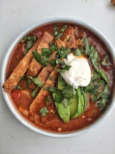 Chicken Tortilla Soup | The Subversive Table
