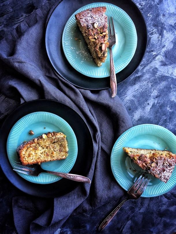 Pistachio Cardamom Cake | The Subversive Table