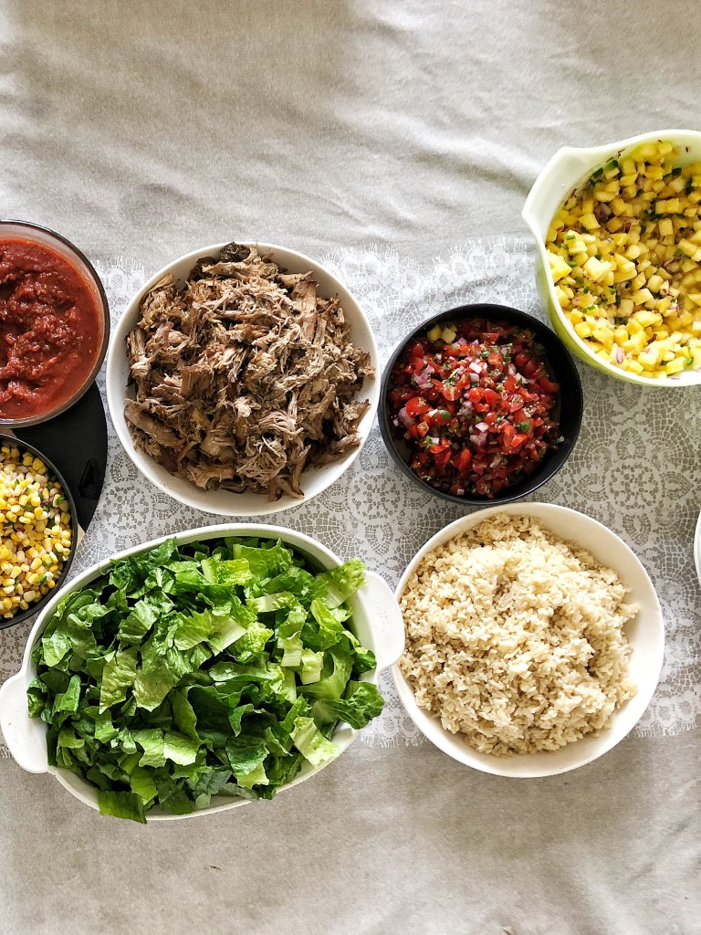 DIY Burrito Bowl Party | The Subversive Table