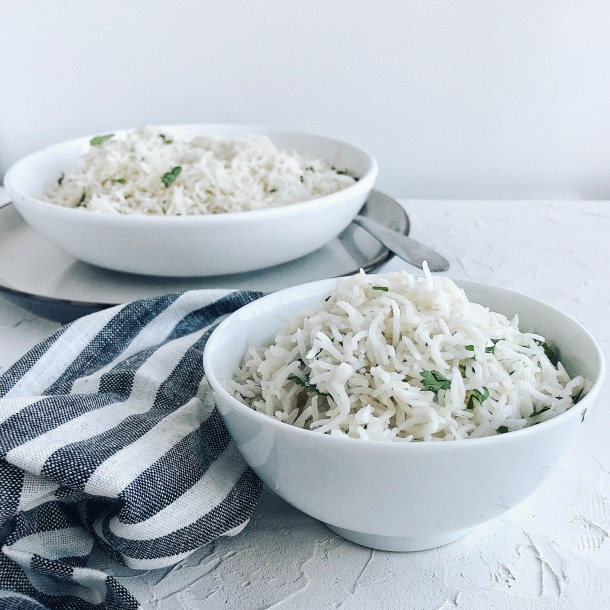 Fragrant, delicious Coconut Rice. Made easier in the Instant Pot. Make this side and bring to EVERY potluck and family dinner.