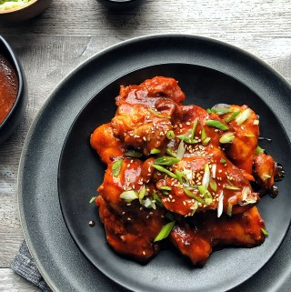 Instant Pot Gochujang Chicken