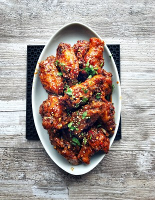 Korean Fried Chicken, platter