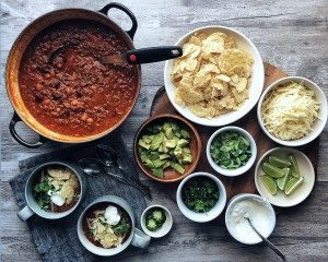 Basic Chili + Toppings