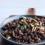 Bulgogi on a plate
