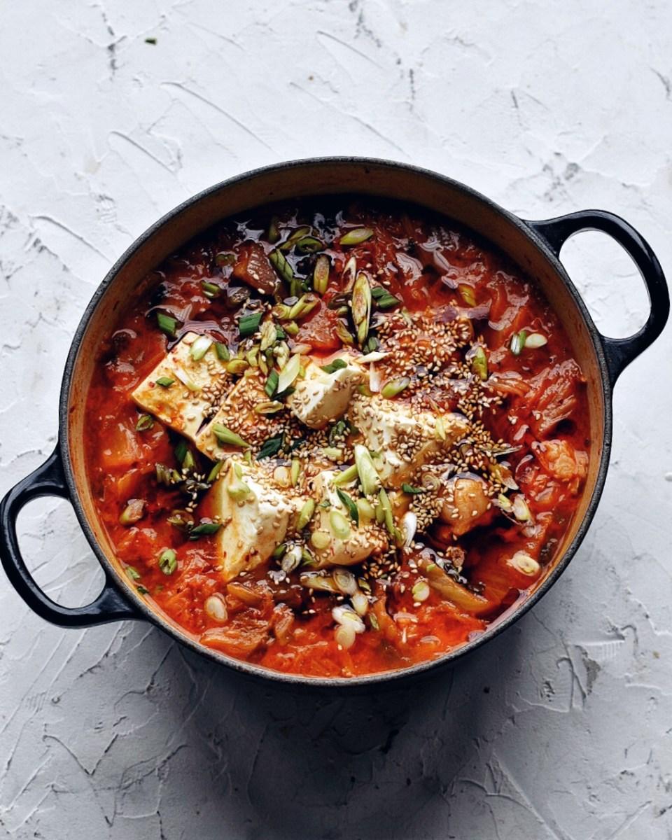 Kimchi Stew aka Kimchi Jjigae