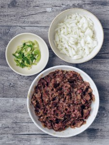 ingredients for ground beef bulgogi
