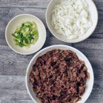 ingredients for ground beef bulgogi