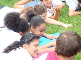 Enjoying the sun and honing teamwork and communication skills