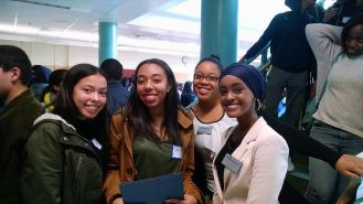 Scholars and Peer Leaders got to spend time together and talk about their favorite parts of the conference.