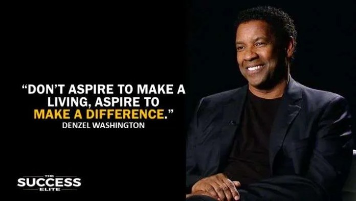 Denzel Washington Quotes Enchanting 25 Most Inspiring Denzel Washington Quotes Ever  The Success Elite