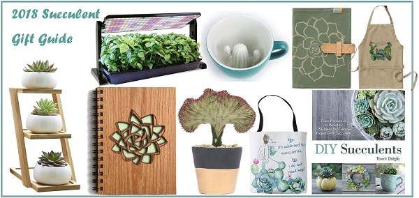 21 Succulent Gift Ideas | 2018 Gift Guide & 21 Succulent Gift Ideas | 2018 Gift Guide | The Succulent Eclectic