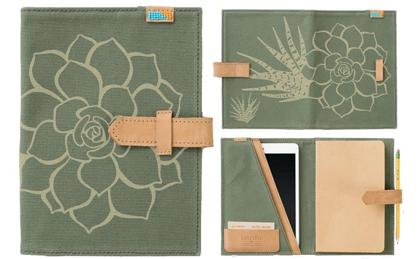 beautiful succulent journal makes a great gift