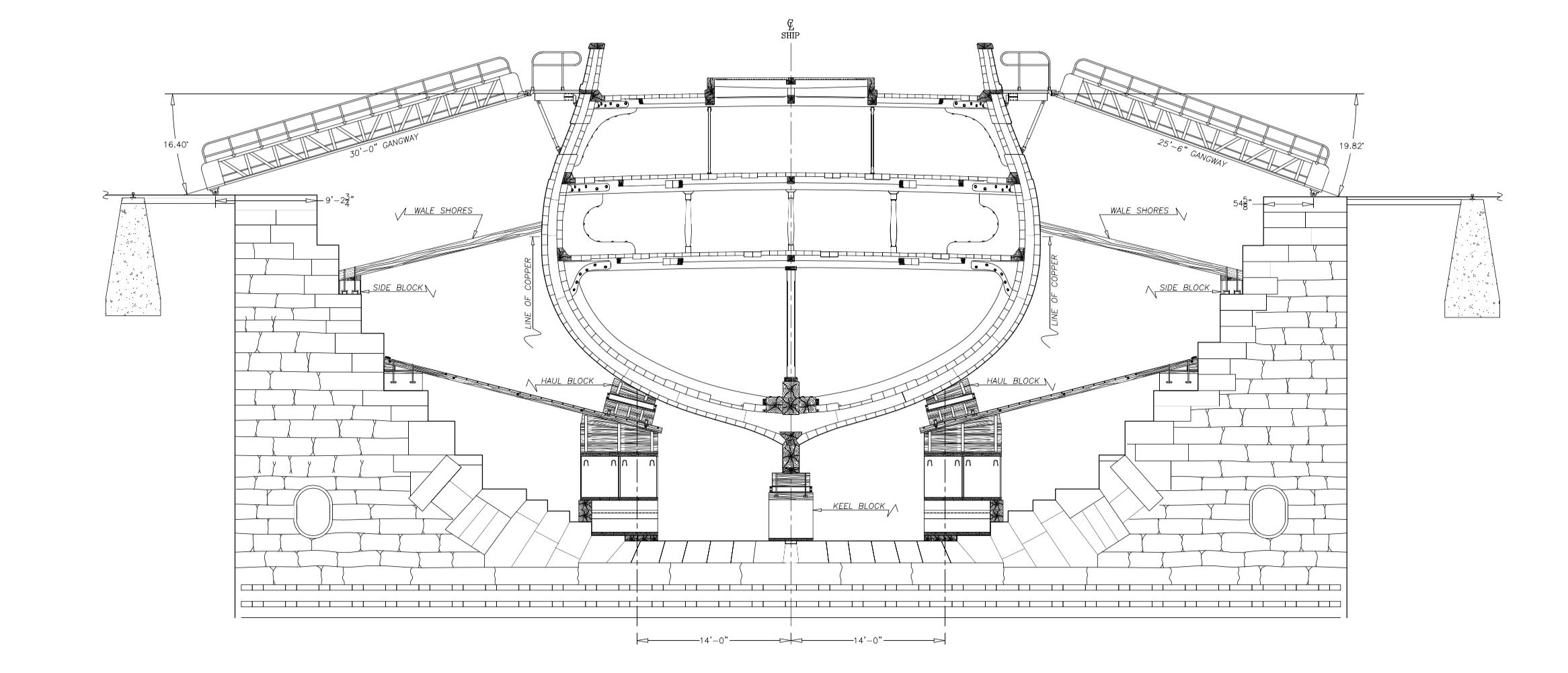 dry dock diagram wiring diagram blog dry well diagram charlestown navy yard dock lines dry dock [ 2332 x 1001 Pixel ]