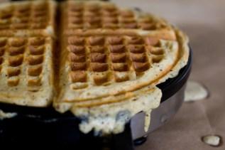 multigrain waffles via 101 cookbooks