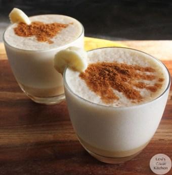 cinnamon chai tea banana smoothie via lexis clean kitchen