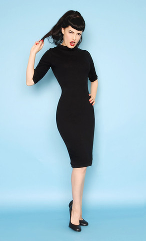 hoh_super spy dress black