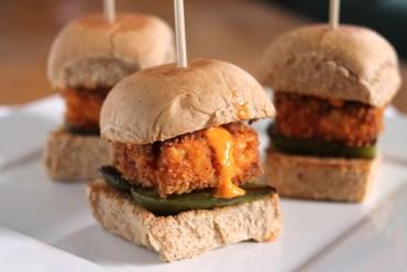 crispy tofu sliders via culinary colleen