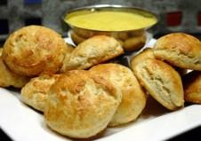 scones with lemon curd via average betty