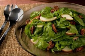 spiced pecan and apple salad via chowhound