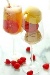 summer sorbet float via grandbaby cakes