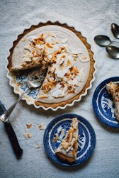 vegan gf coconut cream pie via will frolic for food