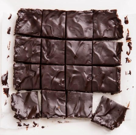 ultimate unbaked raw vegan brownies via chocolate covered katie