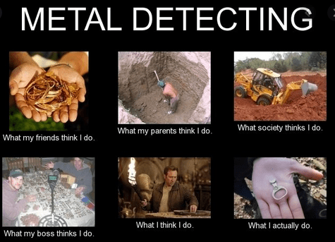 metal dectecting