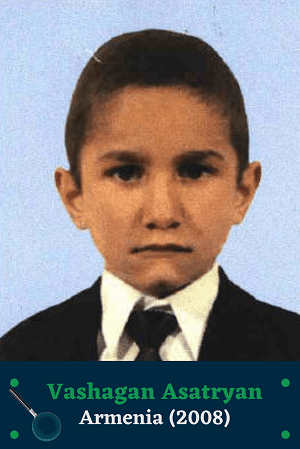 Vachagan Asatryan missing poster