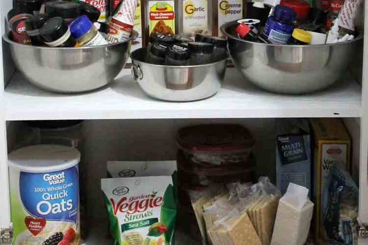 Quick and Easy Kitchen Pantry Organization