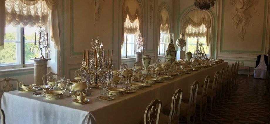 Dining at Peterhof