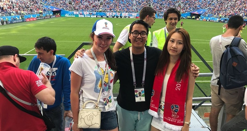 at the 2018 FIFA World Cup