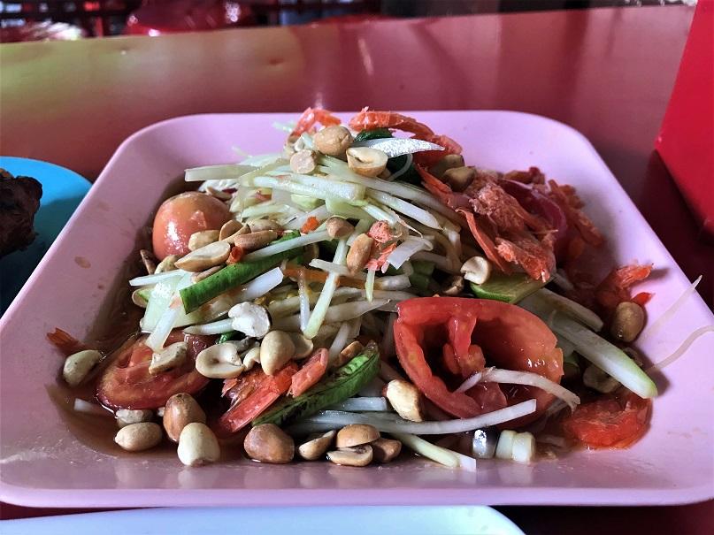 Papaya Salad Top 5 Eats in Thailand