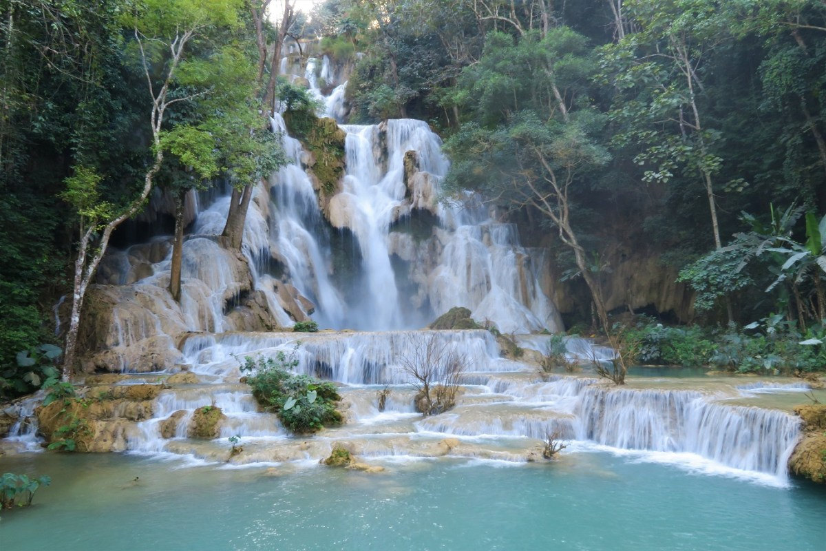 Kuang Si Falls What $40 per day can get you in Laos