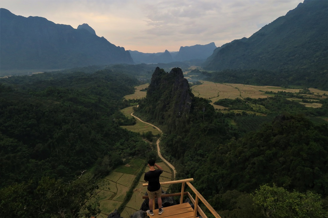 Nam Xay Viewpoint What $40 per day can get you in Laos